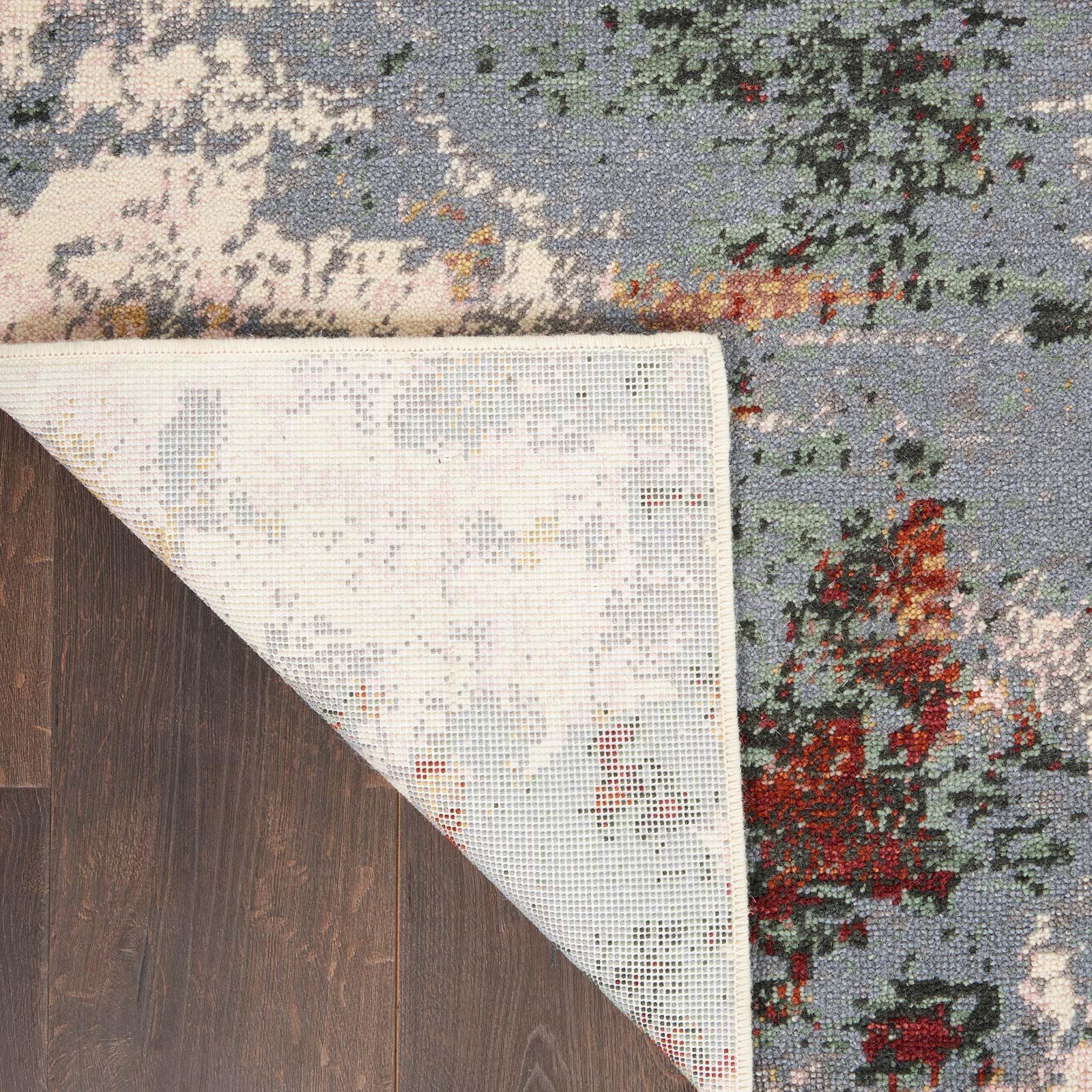 Nourison rug Artworks ATW01 SLTMT SLATE MULTI 8X10 099446709103 CRB C