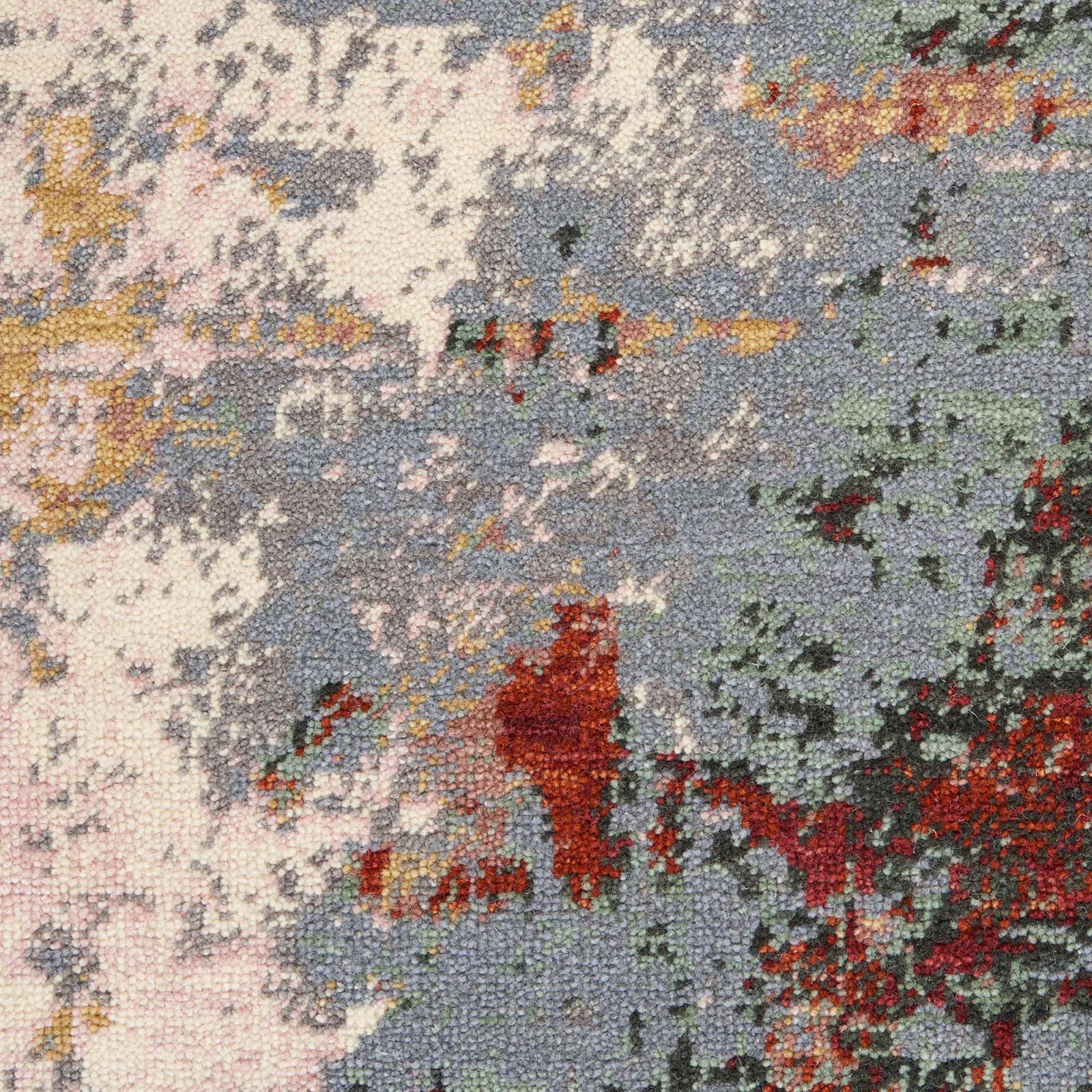 Nourison rug Artworks ATW01 SLTMT SLATE MULTI 8X10 099446709103 swatch C