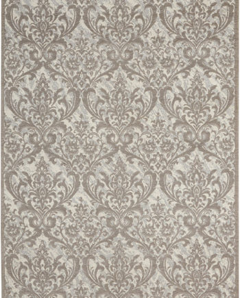 Nourison rug Damask DAS02 IVGRY 5x7 099446341358 main