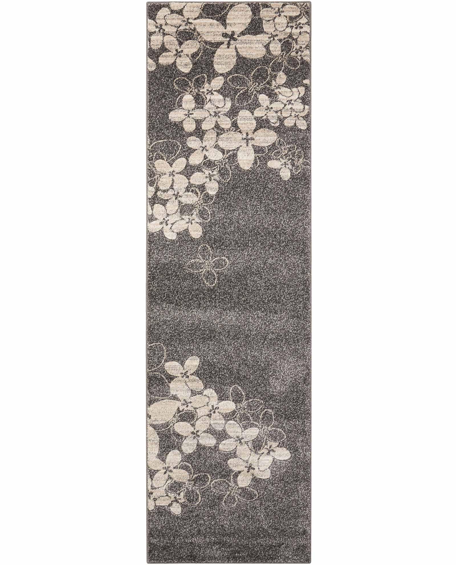 Nourison rug Maxell MAE02 CHARC 3x8 099446334961 main