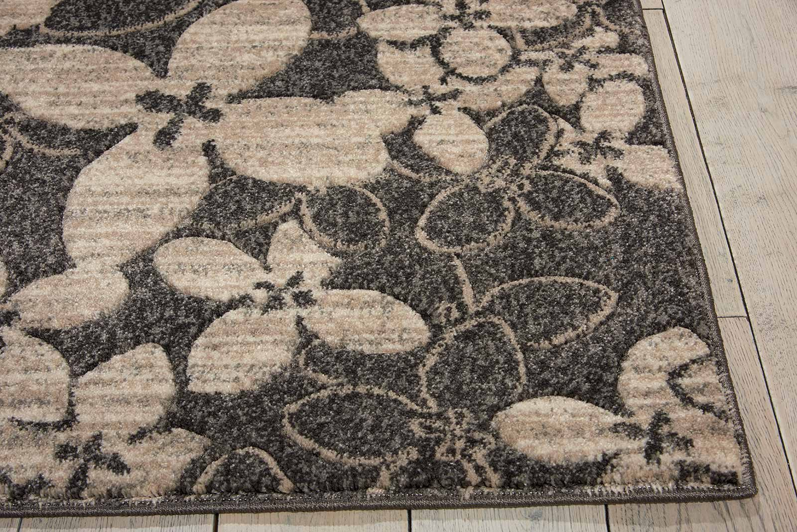 Nourison rug Maxell MAE02 CHARC 6x8 099446334985 DT01