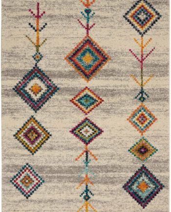 Nourison rug Nomad NMD04 CRMGY 5x8 099446461414 main