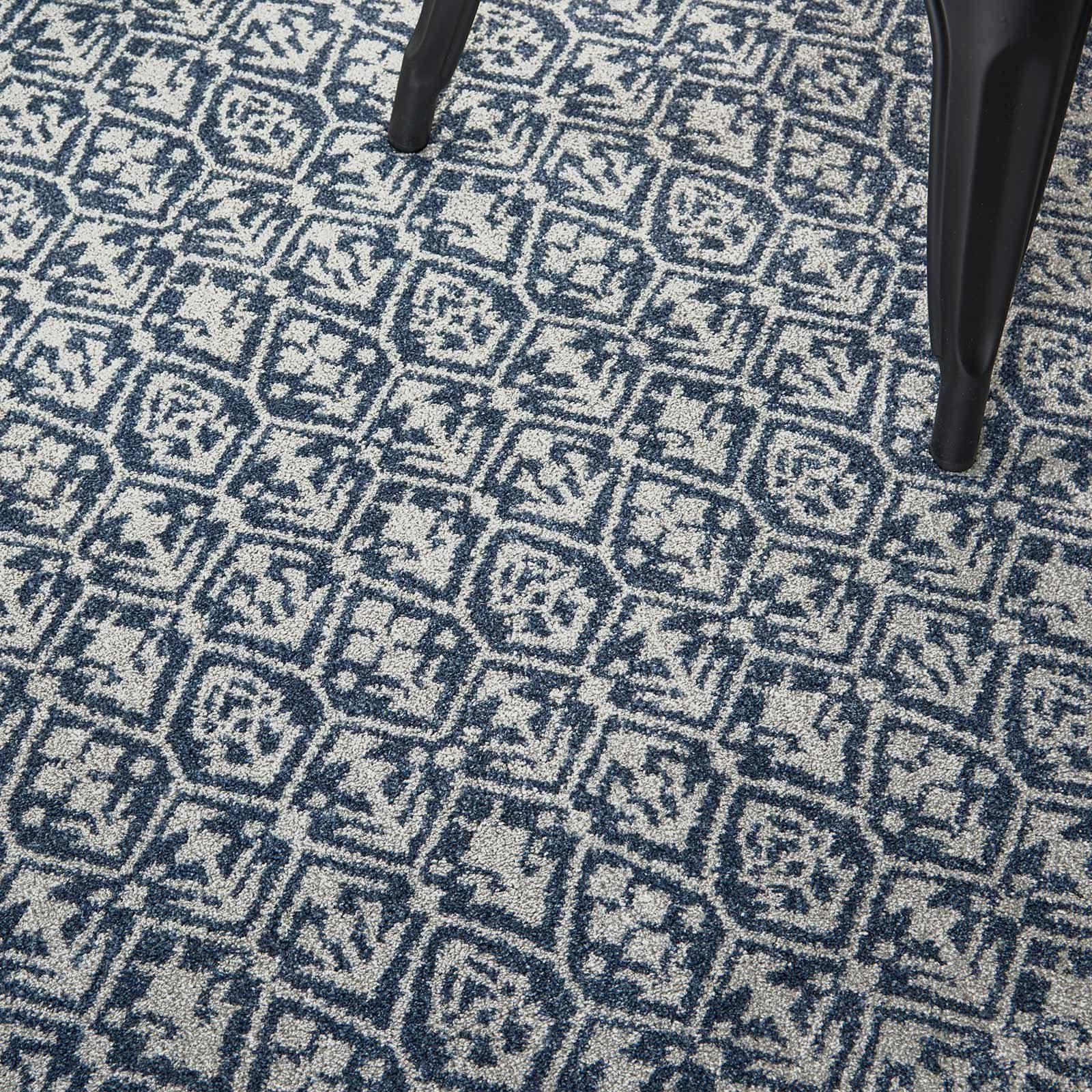 Nourison rug Palermo PMR01 BLUE GREY 5X7 099446719669 interior 2 C