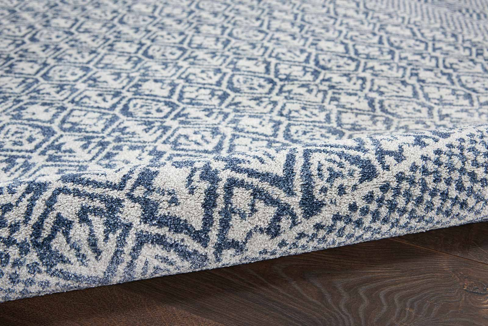 Nourison rug Palermo PMR01 BLUE GREY 5x7 099446719669 TX01 C