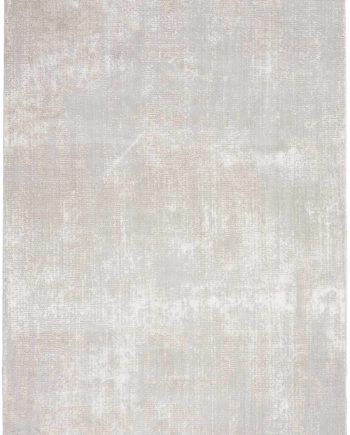 Nourison rug Silky Textures SLY01 IVORY GREY 5x7 099446709837 CR C 1