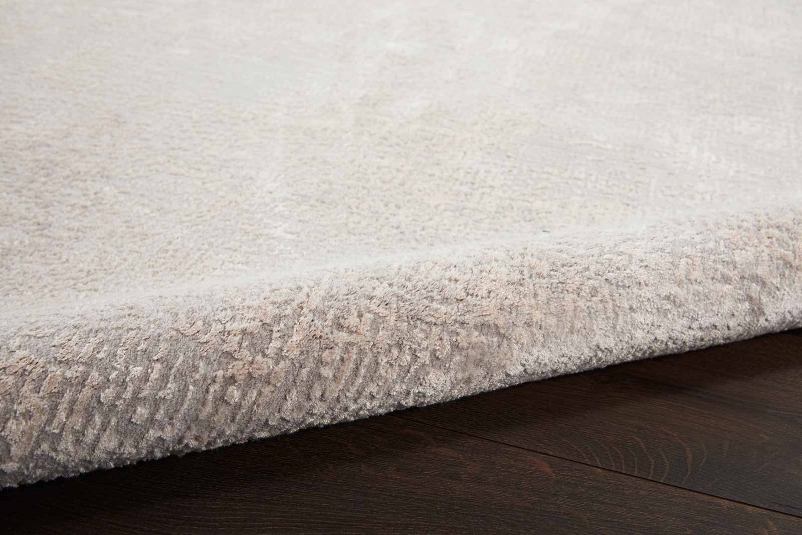 Nourison rug Silky Textures SLY01 IVORY GREY 5x7 099446709837 TX01 C