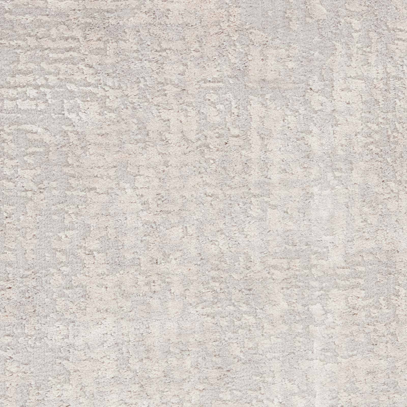 Nourison rug Silky Textures SLY01 IVORY GREY 5x7 099446709837 swatch C