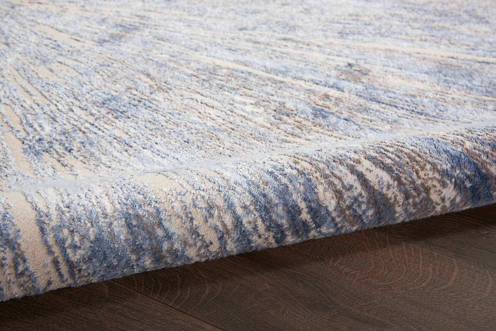 Nourison rug Silky Textures SLY05 BLUE GREY 5x7 099446710222 TX01 C