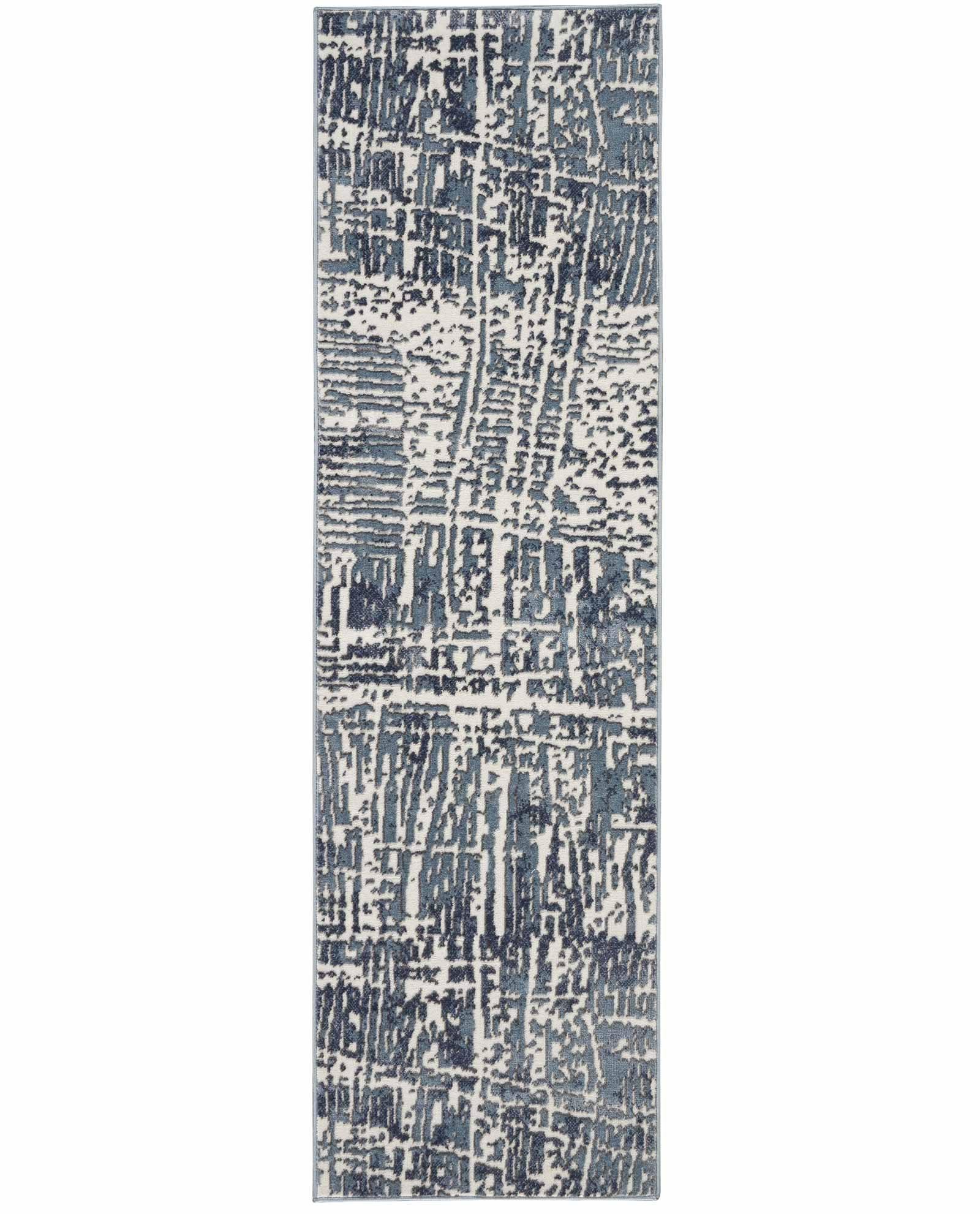 Nourison rug Urban Decor URD01 SLTIV 2X8 099446143549 flat C