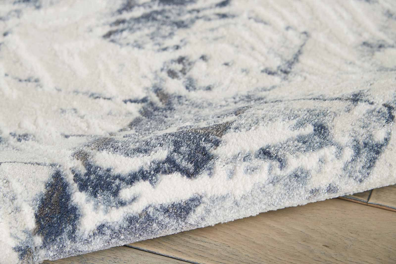 Nourison rug Urban Decor URD02 IVORY BLUE 5x7 099446466976 TX01