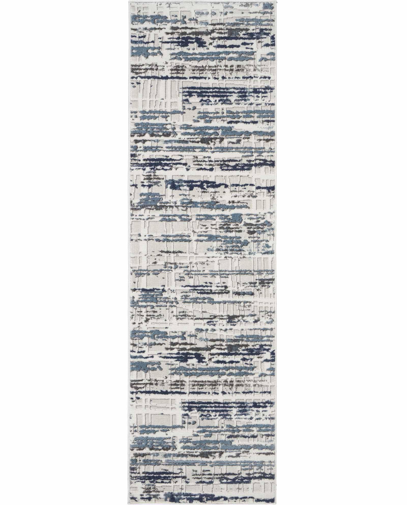 Nourison rug Urban Decor URD03 IVSLT 2X8 099446143570 flat C