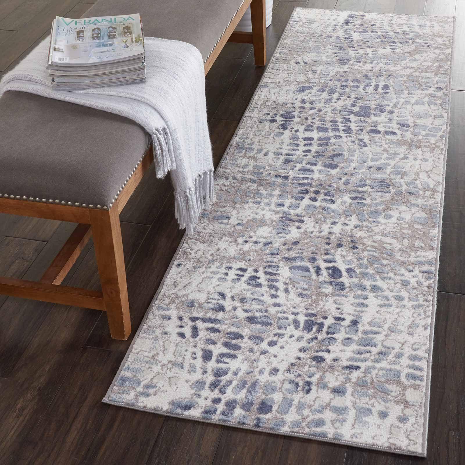 Nourison rug Urban Decor URD04 IVGRY 2X8 099446467096 interior 1 C