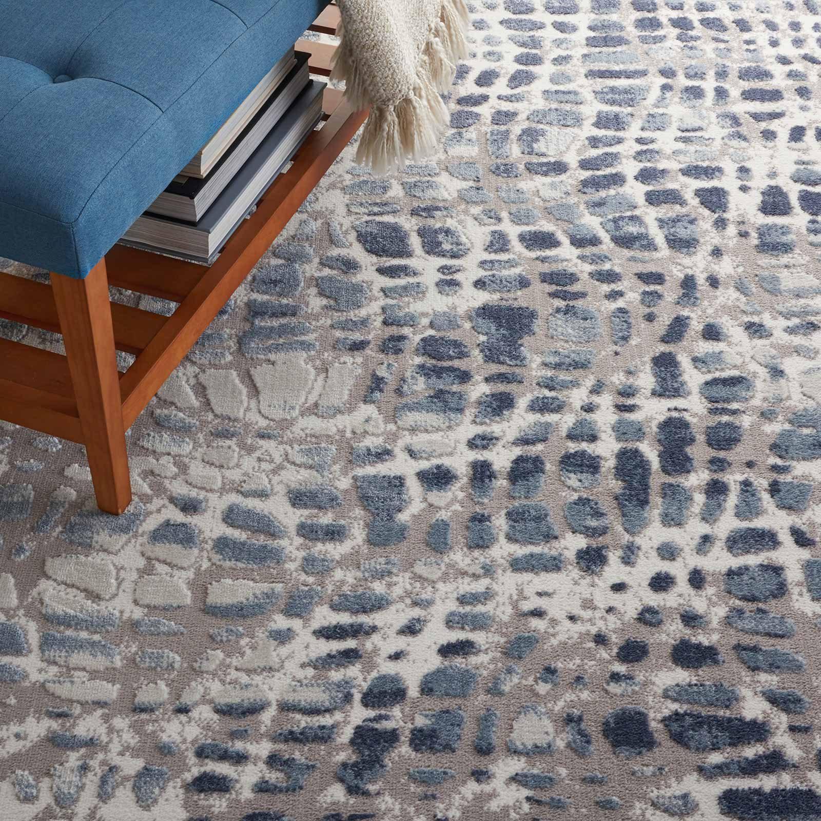 Nourison rug Urban Decor URD04 IVGRY 4x6 099446467102 interior 2 C