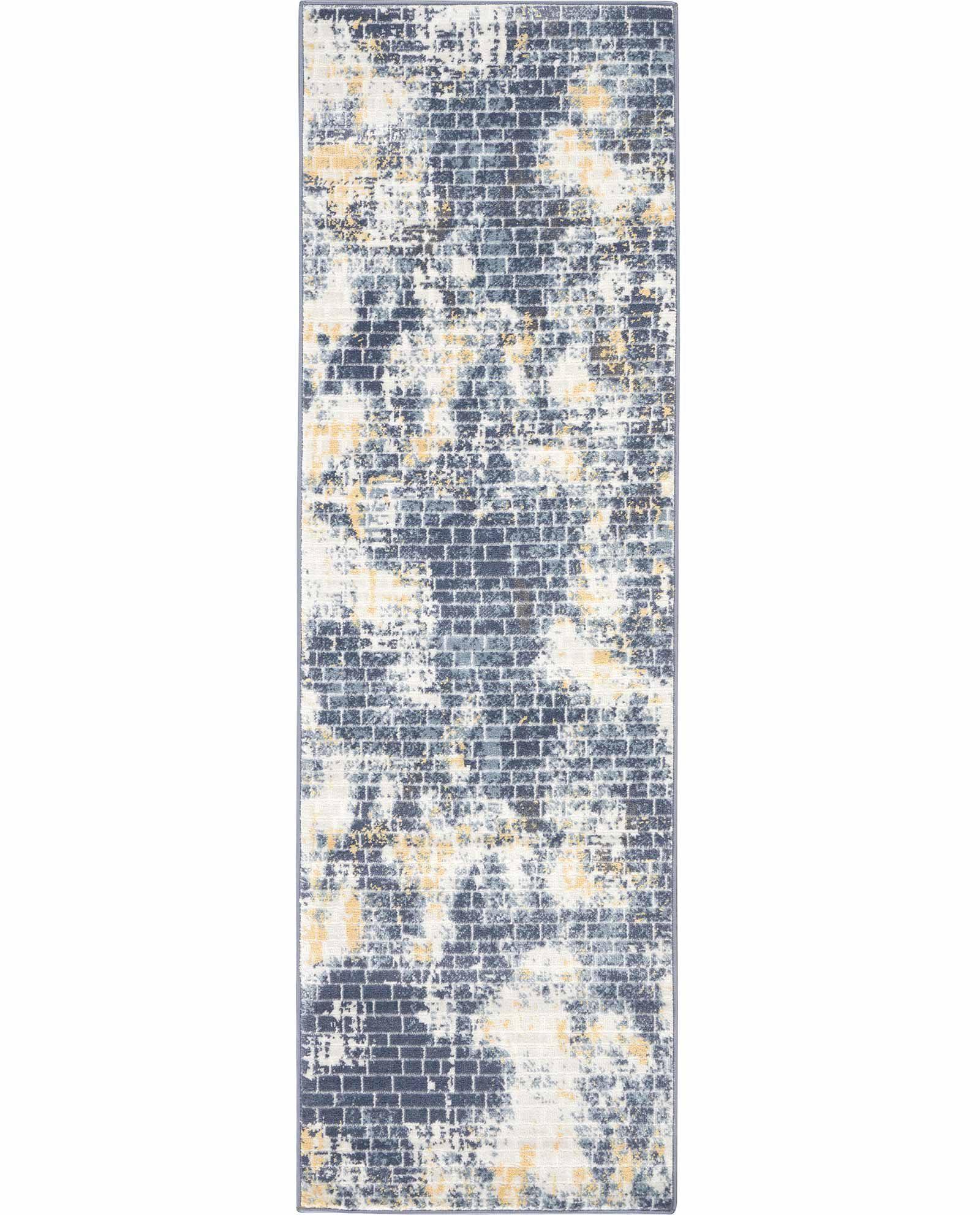 Nourison rug Urban Decor URD05 IVSKY 2X8 099446467164 flat C