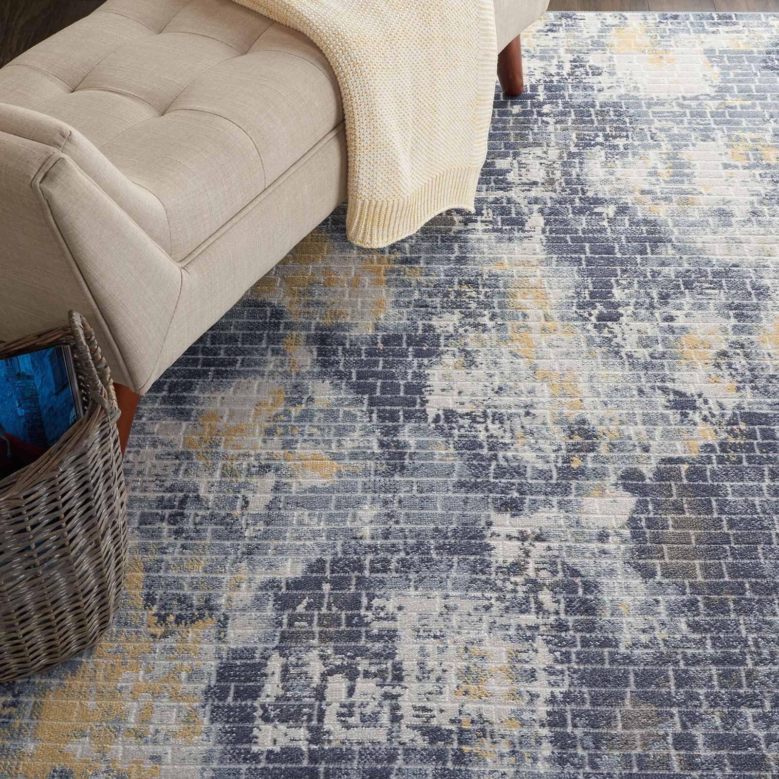 Nourison rug Urban Decor URD05 IVSKY 4x6 099446467171 interior 2 C