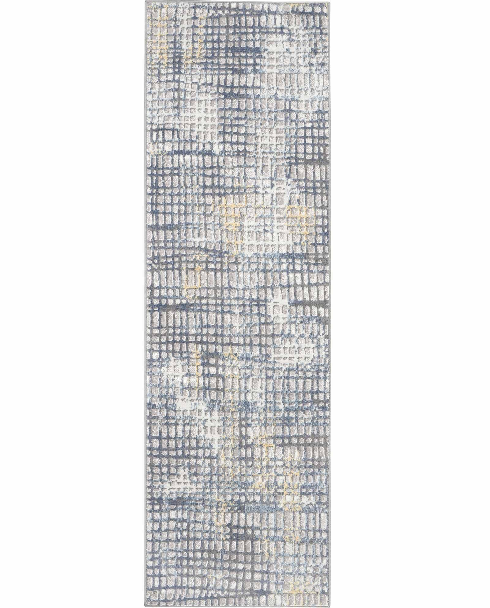 Nourison rug Urban Decor URD06 GRYIV 2X8 099446467195 flat C