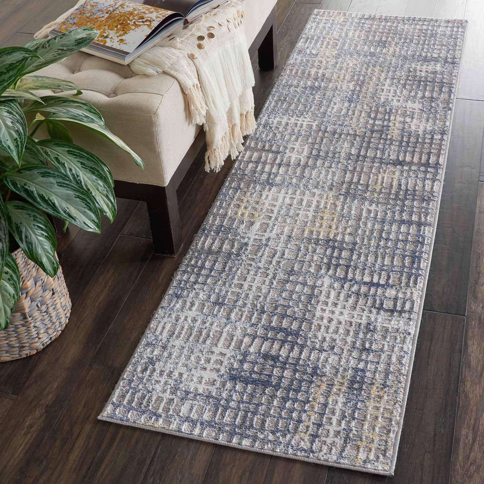 Nourison rug Urban Decor URD06 GRYIV 2X8 099446467195 interior 1 C