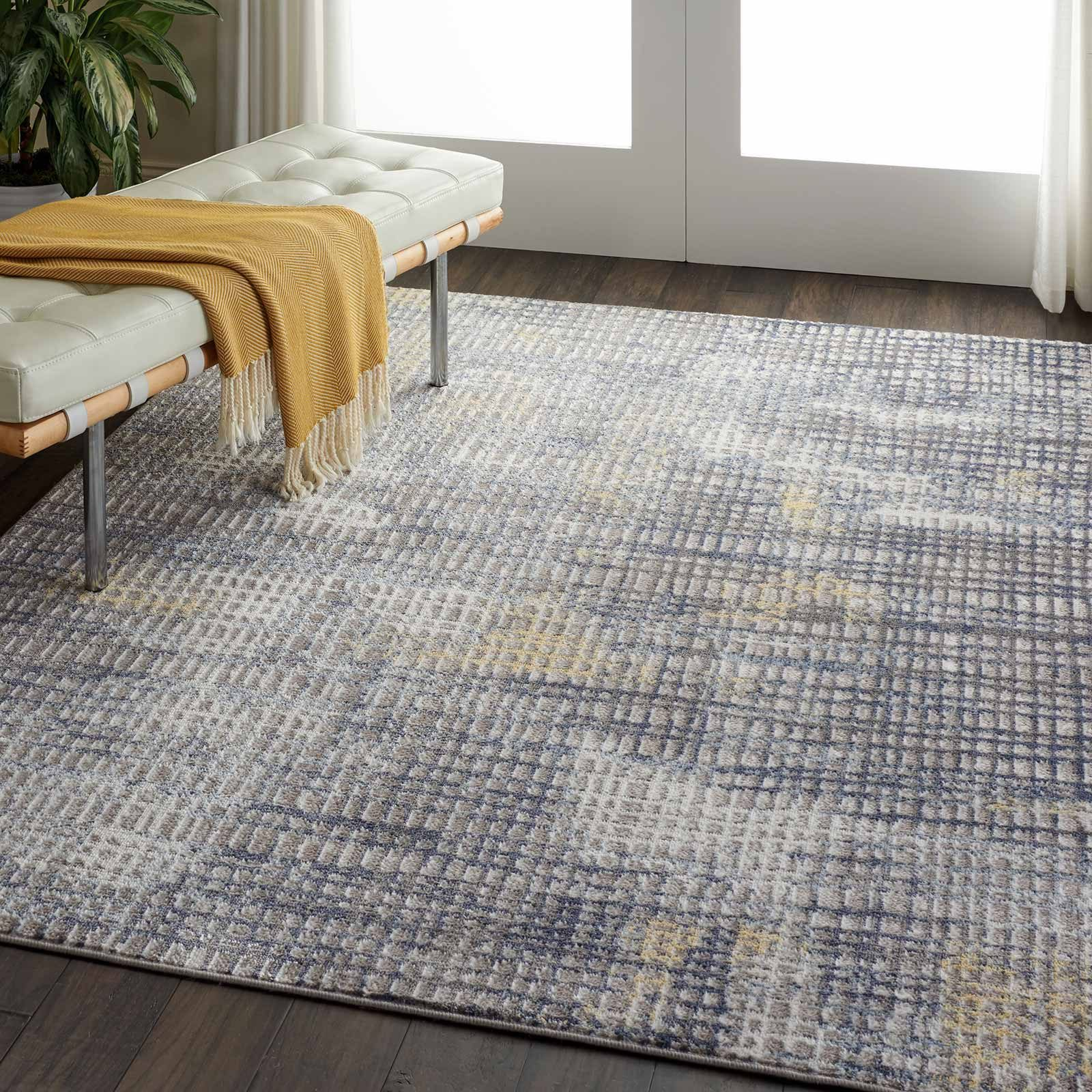 Nourison rug Urban Decor URD06 GRYIV 4×6 099446467201 interior 3 C