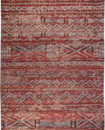Louis De Poortere rug LX 9115 Antiquarian Kilim Fez Red