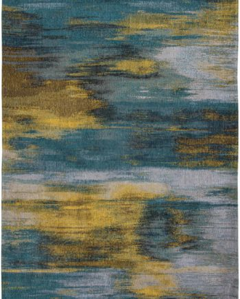 Louis De Poortere rug LX 9119 Atlantic Monetti Nymphea Blue