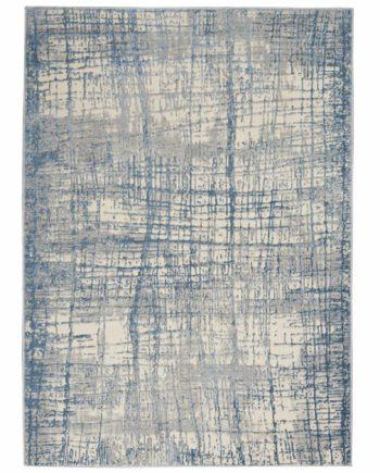 Calvin Klein rug CK950 CK950 IVBLU IVORY BLUE 5X7 099446756480 flat 1 C
