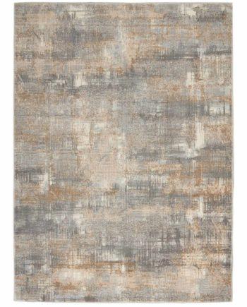 Calvin Klein rug CK950 CK951 GRYBG GREY BEIGE 5X7 099446756701 flat 1 C