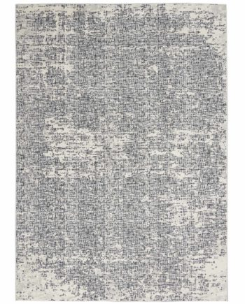 Calvin Klein rug CK970 CK971 IVBLK IVORY BLACK 5x7 099446759276 flat 1 C