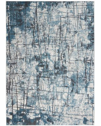 Calvin Klein rug CK970 CK972 GRYBL GREY BLUE 5x7 099446759313 flat 1 C