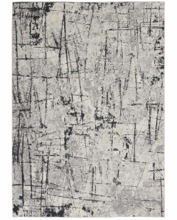 Calvin Klein rug CK970 CK972 IVGRY IVORY GREY 5x7 099446759283 flat 1 C