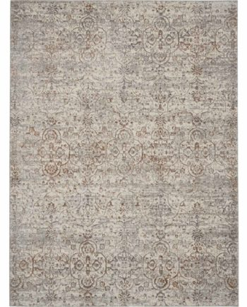 Kathy Ireland rug KI40 KI43 BEIGE 5x7 099446736031 flat 1 C