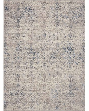 Kathy Ireland rug KI40 KI43 BGEBL BEIGE BLUE 5x7 099446736109 flat 1 C
