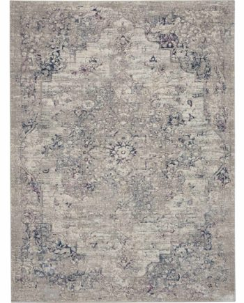Kathy Ireland rug KI40 KI44 BGEBL BEIGE BLUE 5x7 099446736147 flat 1 C