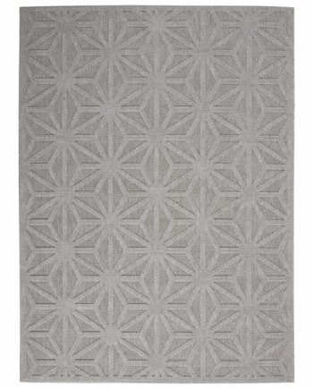 Nourison rug COZUMEL CZM01 LTGRY LIGHT GREY 5X7 099446199775