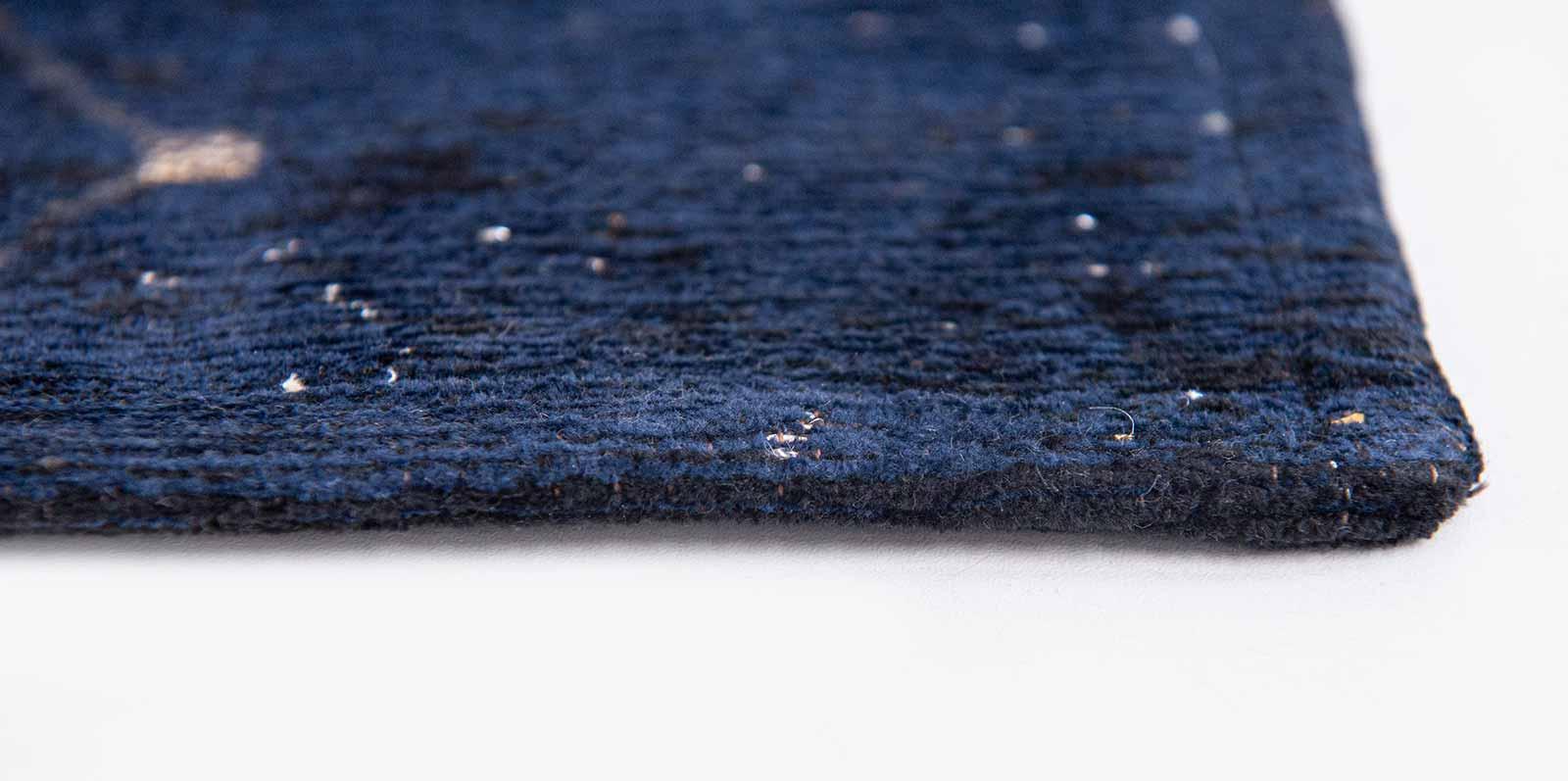Louis De Poortere rug Fischbacher 9060 Celestial Midnight Blue side