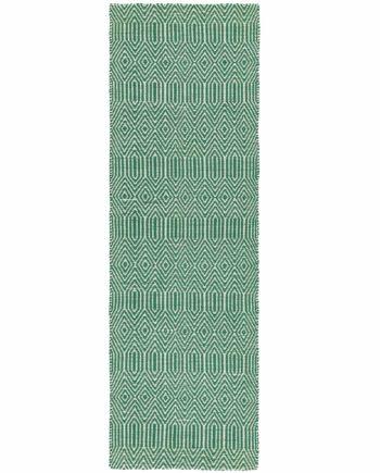 Asiatic rug Avalys Green Runner 1