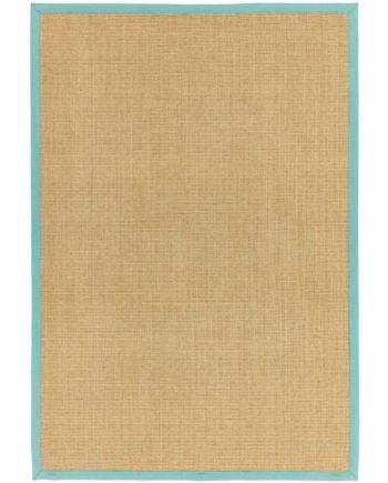 Asiatic rug Sisalis Linen Aqua 1