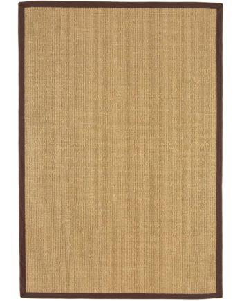 Asiatic rug Sisalis Linen Chocolate 1