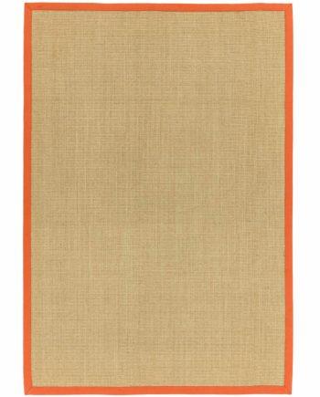 Asiatic rug Sisalis Linen Orange 1