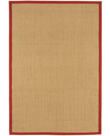 Asiatic rug Sisalis Linen Red 1